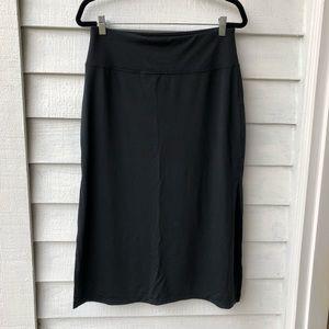 Athleta Slitted Skirt
